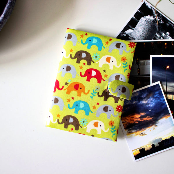 Elephant Passport Cover- Green - Nestasia Home Decor