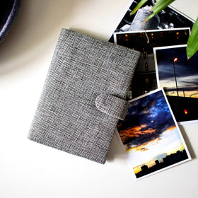 Passport Cover - Grey