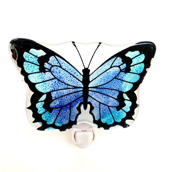 MAGNIFIQUE  Butterfly Night Lamp - Blue - Nestasia Home Decor