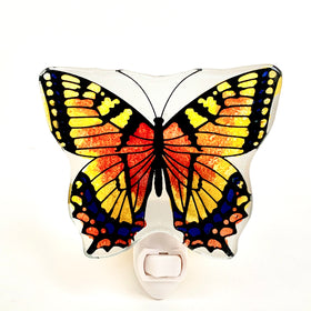 Buterfly Night Lamp - Red