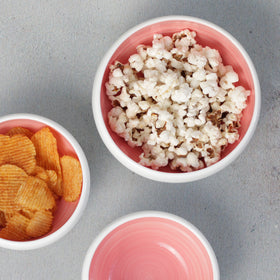 Pink Snack Bowl