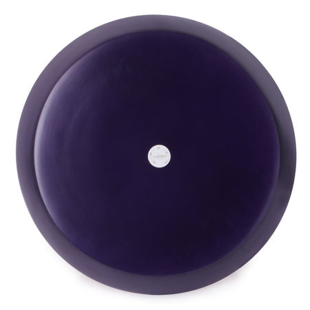 Round Bamboo Tray- Purple / Ultraviolet