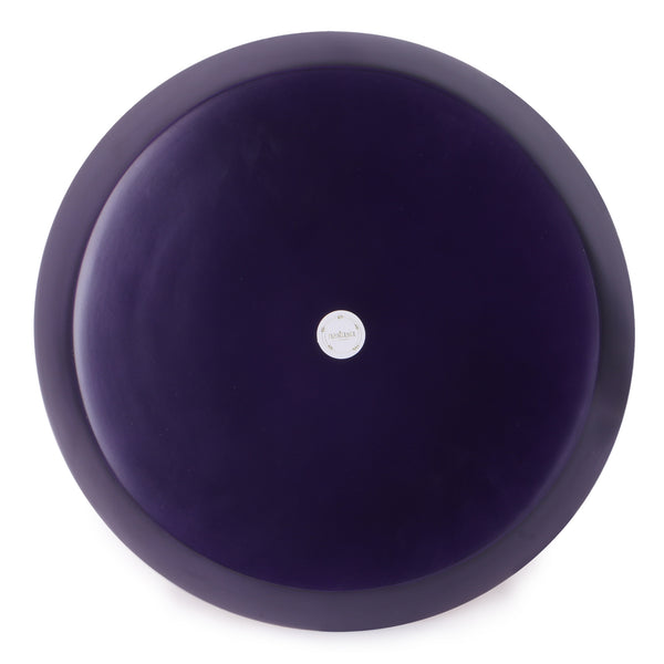Round Bamboo Tray- Purple / Ultraviolet - Nestasia Home Decor