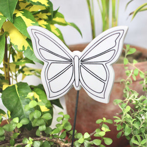FLORA DIY Butterfly garden stake - Nestasia Home Decor