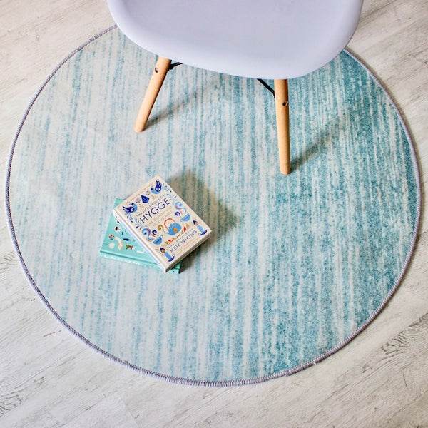 GRADIENT Round Rug - Green (L) - Nestasia Home Decor