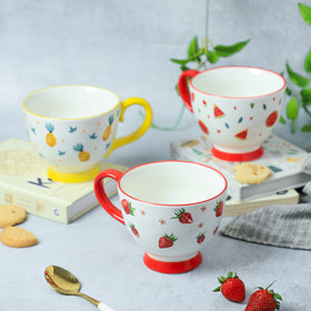 Cappuccino Cups Fruity