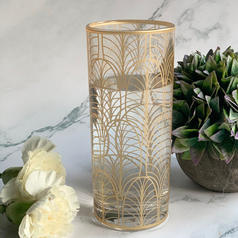 CARA Drinking glass - Gold