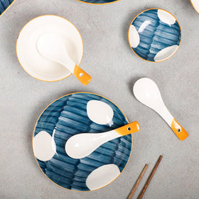 Hand painted Dinner Set Nitori