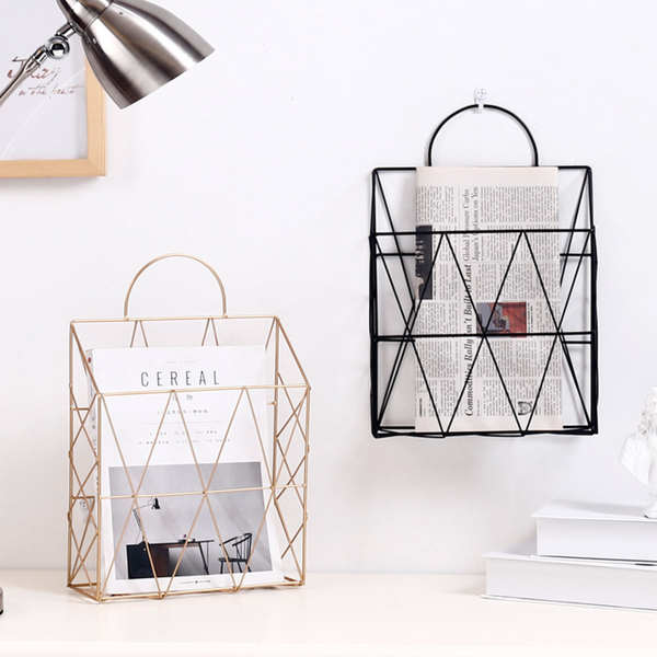 Magazine Holder Gold