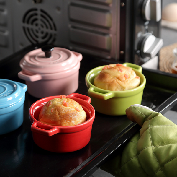 Mini Baking Pot Green