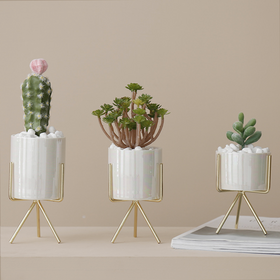 Pearl Planter With Stand