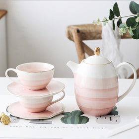 Ombre Tea Set Pink