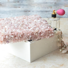 QUARTZ Pink positivity crystal box