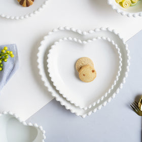 Scalloped Plate Heart