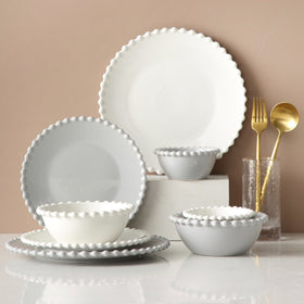 Scalloped Plate Round