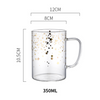 Starry Glass Coffee Mug