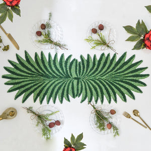 Beads Palm Leaf Runner
