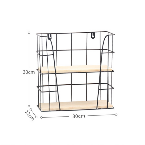Two Tier Metal Shelf
