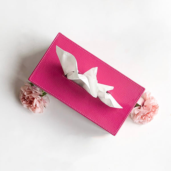 GLAM Tissue Box - Pink Floral - Nestasia Home Decor