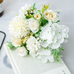 White Faux Flowers