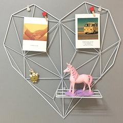 Heart Wall Rack