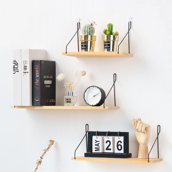 Wooden Shelf L