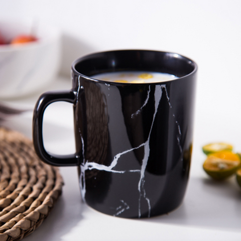 CHICERAMIC Marble Mug - Black