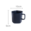 GEOMTERIC pentagon mug - Prussian blue - Nestasia Home Decor