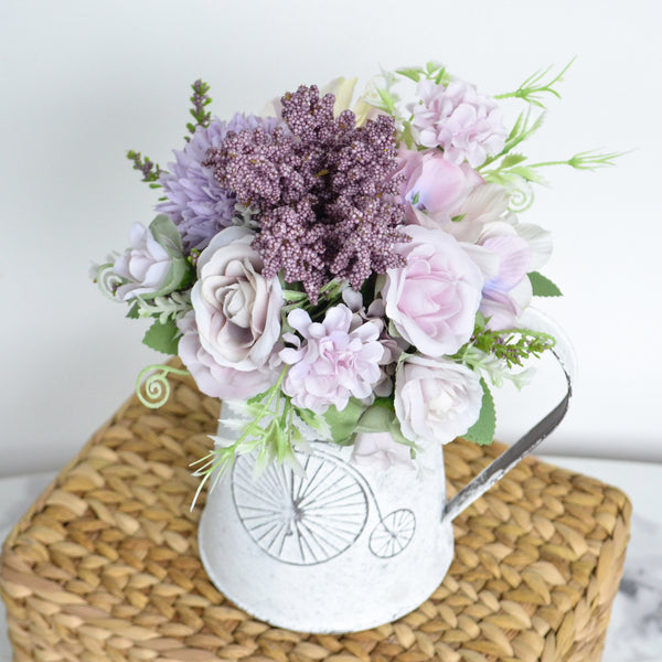 Mauve Flowers in Jug