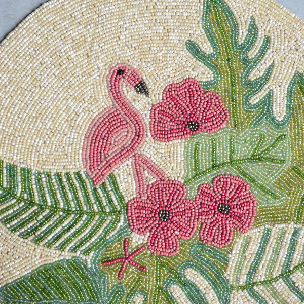 Beads Flamingo Mat