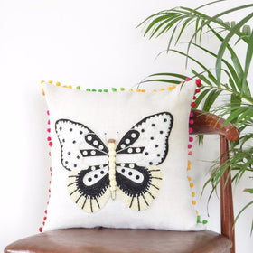 Black and White Cushion Cover