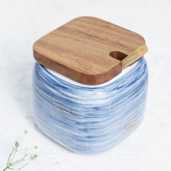 Blue Spice Jar Set