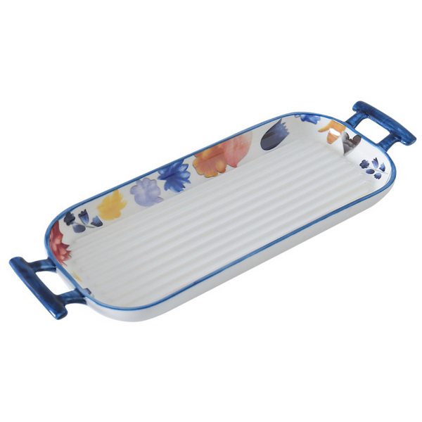 Ceramic Baking Tray Blue