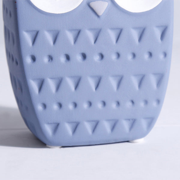 Owl Decoration Blue