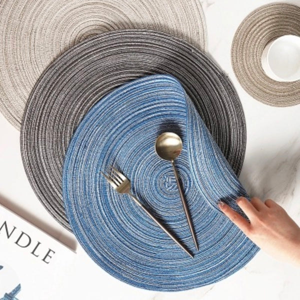 Blue Table Mat Set