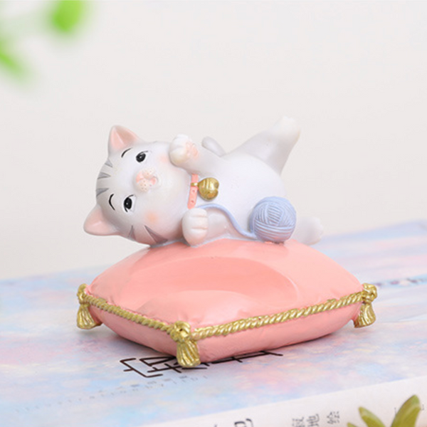 cat phone stand