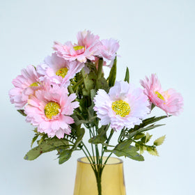 Daisy Artificial Flowers Pink