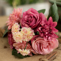 Flower Bunch Dark Pink