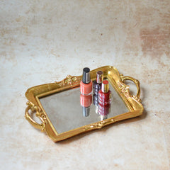 Gold Display Tray