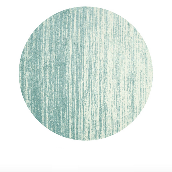 GRADIENT Round Rug - Green (S) - Nestasia Home Decor