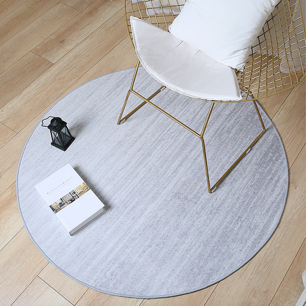 GRADIENT Round Rug - Grey (L) - Nestasia Home Decor