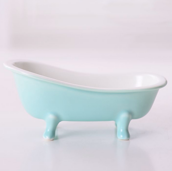 Green Tub Ceramic snack bowl