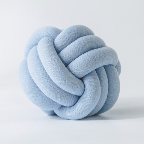KNOTTIE pillow - Blue