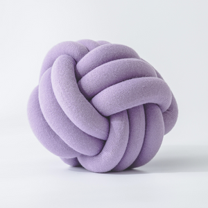 KNOTTIE pillow - purple