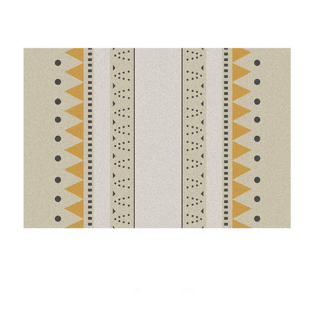 ROCCO Rectangle rug (L) - mustard