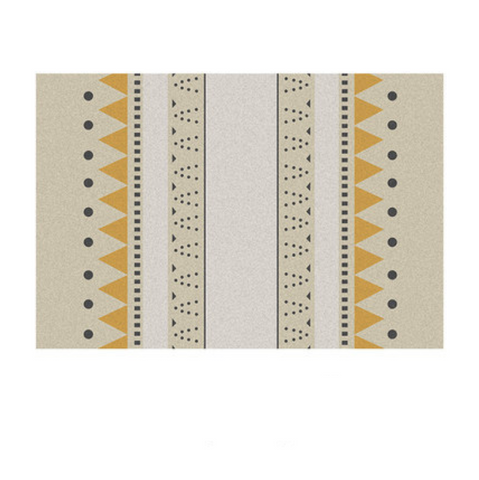 ROCCO Rectangle rug (M) - mustard
