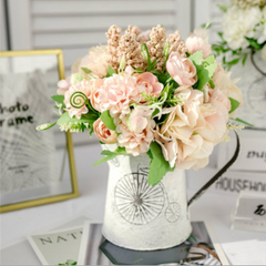 Artificial Flowers Jug