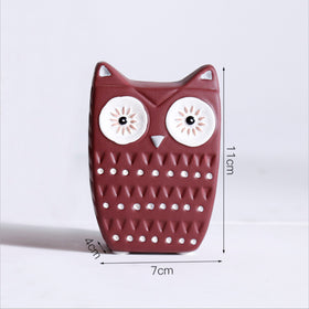 Owl Decoration Red