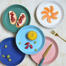 Round Snack Plate