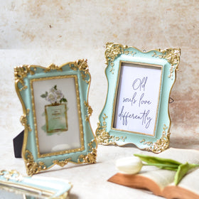 Vintage Green Photo Frame